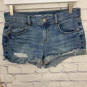 🌛Old Navy 🌛cut off distressed boyfriend shorts